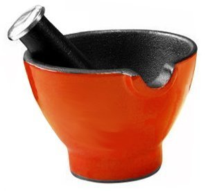 Le Cuistot Mortar and Pestle - Cast Iron - 4
