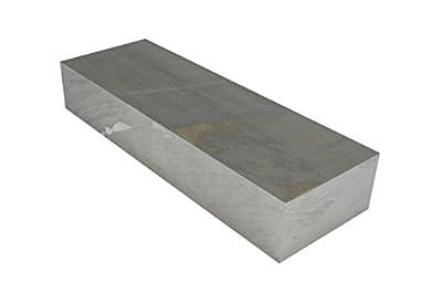 "TEMCo 1 1/2 Inch 3""x10"" 6061 Aluminum Tooling Flat Sheet Plate Bar Mill Stock"
