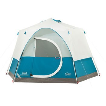 Coleman Elks Bay 8 Instant Tent - This octagon tent features taped fly seams welded  sc 1 st  Amazon.ca & Coleman Elks Bay 8 Instant Tent - This octagon tent features taped ...