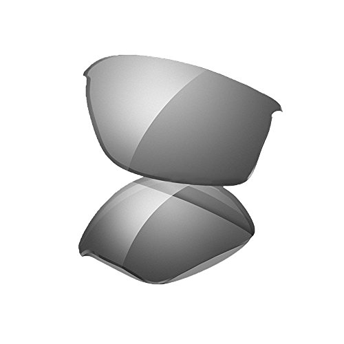 Oakley Flak 2.0 XL Replacement Lens Black Iridium, One - Replace Oakley Lenses