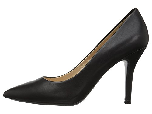 Calf Leather Pump Shoes (Nine West Women's FIFTH9X Fifth Pointy Toe Pumps,   Black Calf Leather - 8.5 B(M) US)
