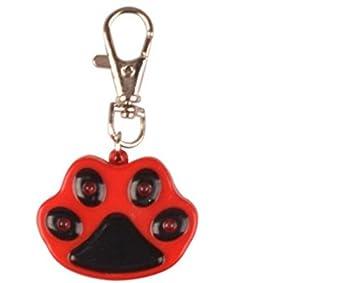 Fushenr Arnés de Mascotas Perro Paw-Shaped LED Colgante ...