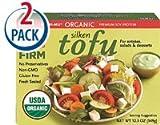 Mori-Nu Organic Silken Tofu Firm -- 12.3 oz Each / Pack of 2