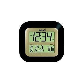 Amazon Com Skyscan Atomic Clock With Outdoor Temperature