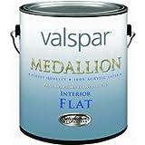 Valspar 27-1408 GL 027.0001408.007 Medallion Interior Flat Wall Latex Paint, 1 gallon, Pastel Base (Pack Of 4)