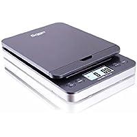 SAGA 86 LB GRAY DIGITAL POSTAL SHIPPING SCALE by SAGA X 0.1 OZ WEIGHT USPS POSTAGE W/AC USB M Pro Model