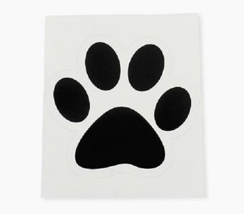 Paw Print Floor Wall Clings