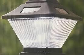 Black Dual Mount Solar LED Post Cap Lights(2-Pack) (Lighting Caps Deck Solar Post)