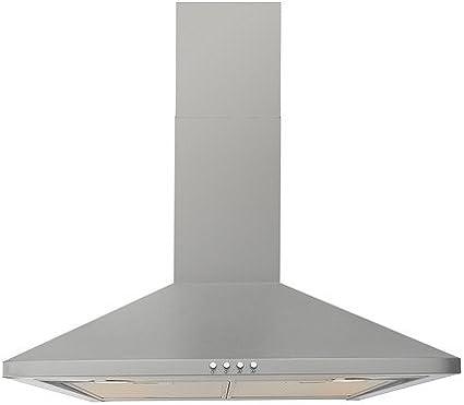 IKEA Uppdrag - Wall campana extractora montada, acero inoxidable - 60 cm: Amazon.es: Grandes electrodomésticos