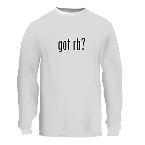 got Rb? - A Nice Men's Long Sleeve T-Shirt Shirt, White, - 3269 Rb