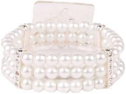 Floral Design Pearl - Corsage Bracelet - Duchess Flower - Sugar
