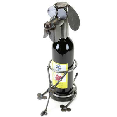 Golfer Dog Wine Caddy Yardbirds Richard Kolb