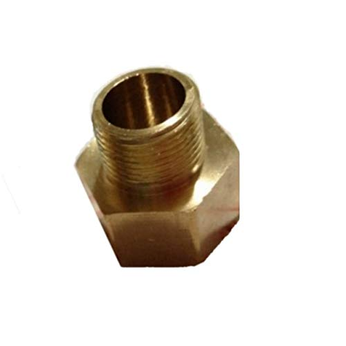 Fitting Metric M12X1.5 Female to Pipe NPT 1//4 Male Adapter Brass