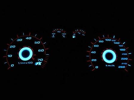 Bj 2000-2004 Plasmascheibe Tacho Tachoscheiben Plasmaoptik Set VW Passat 3BG