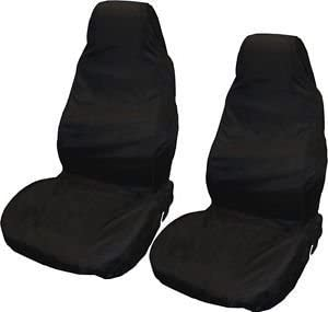 S 1/  tech automotive Front Seat Covers//Protectors 1/  Tough Waterproof Black