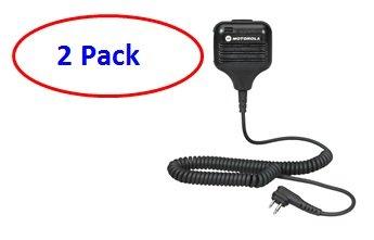 Motorola HKLN4606 External Speaker Mic (2 Pack)