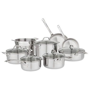 - Viking Tri-Ply 13-Piece Cookware Set