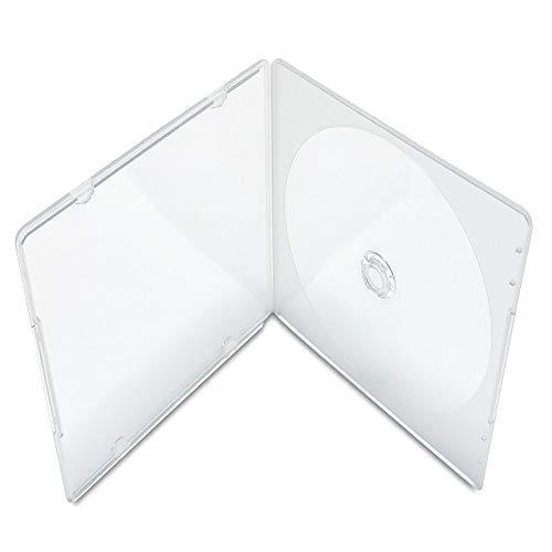 KEYIN Slim Single Clear PP Poly CD