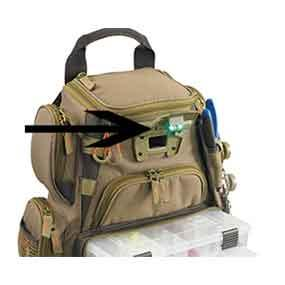 Wild river by clc wt3503 tackle tek recon lighted compact for Fishing backpack amazon