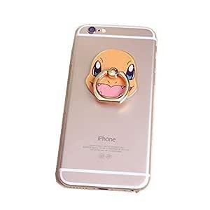 Universal Cartoon Pokemon 360 Ring Finger Ring Stand Holder Phone Charmander