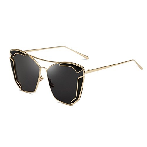 SG10906C7 PC Lens Fashion Metal Frames Sunglasses