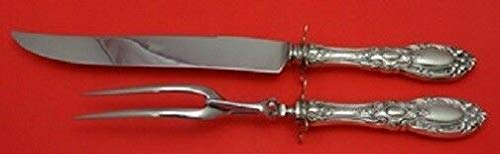 King Richard By Towle Sterling Silver Roast Carving Set 2-Piece HHWS