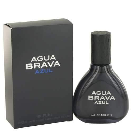 Agua Brava Azul by Antonío Puíg Eau De Toílette Spray 3.4 oz (Men)