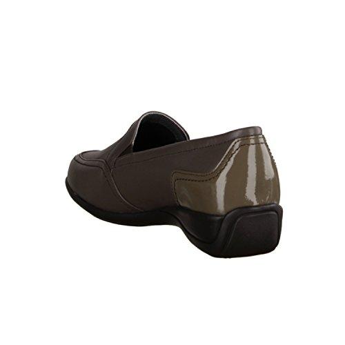 Xsensible Cissone 2392.3.432 Classicwalker- Bequemschuhe / lose einlage Damenschuhe Bequeme Ballerina / Slipper, Braun, stretchleder ( sehr dehnbar ), absatzhöhe: 25 mm