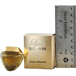 Lady Million by Paco Rabanne 0.17 oz Eau de Parfum Miniature Collectible by Unknown