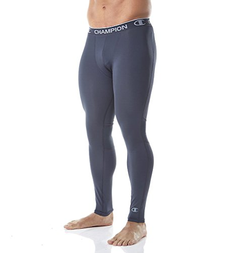 Champion Men's Powerflex Tight, Stealth, X-Large