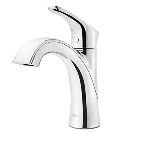 Chrome Push Polished Control (Pfister Weller LG42-WR0C Single Control Bath Faucet, in Polished Chrome)
