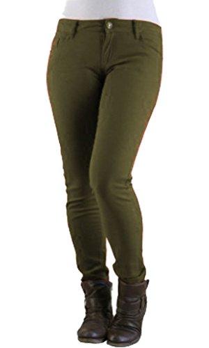 Inc unique Jeans Kaki Vanilla Femme noir taille dACAwqH