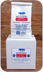 Woodwise No Shrink Patch-quick Wood Filler 6 Lb Box Knot Brown