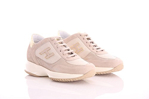 and Womens Hogan Gold Beige Nubuk in xwHW7q6Tz