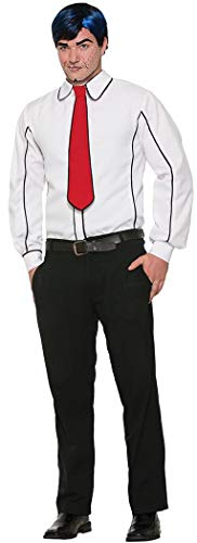 Forum Novelties Pop Art Shirt and Tie Costume - Standard - Chest Size up to 42 -