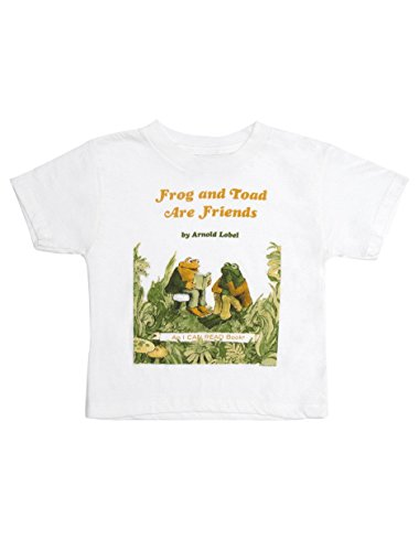 - Out of Print Kids' Frog and Toad are Friends T-Shirt 4/5 Year