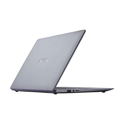 AVITA PURA NS14A6INU442-SGGYB 14-inch Laptop (AMD Ryzen 3-3200U/4GB/256GB SSD/FHD/Windows 10 Home in S Mode/AMD Radeon Vega 3 Graphics/MS Office 365/ 1.34Kg), Space Grey with 3 in 1 Sleeve (Grey)
