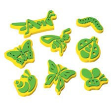 Jumbo Ink Bug Stampers (Stamp Chunky Foam)