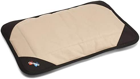 Caldera Pet Therapy Bed Tan – Hot Cold Relief