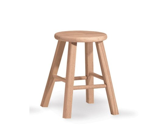 international-concepts-1s-518-18-inch-round-top-stool-unfinished