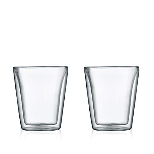 - Bodum Canteen Double WallTumbler/DOF Glass, Set of 2