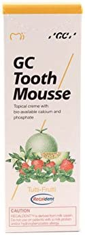 2x GC Tooth Mousse Zahnpasta 35ml Tube Tutti Frutti (2x 35ml Tube)
