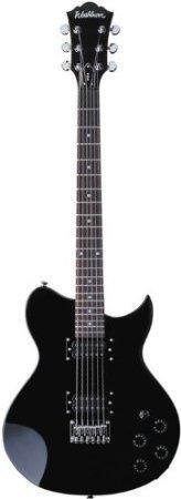 【 並行輸入品 】 Washburn (ワッシュバーン) WI14Black 6弦 エレキギター ケース付きB00JEFBZFG