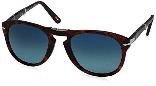 Persol Mens Sunglasses (PO0714) Tortoise/Blue Acetate - Polarized - - Po0714 Persol