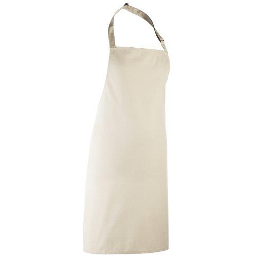 Premier Colours Bib Apron / Workwear (One Size) (Natural)