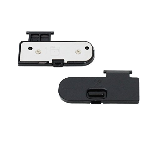 PhotoTrust Battery Door Cover Lid Cap Replacement Repair Part for Nikon D3100 DSLR Digital ()