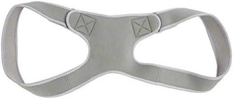 Healifty 大人用の姿勢ベルト耐久性のある調整可能な姿勢補正器(グレー)