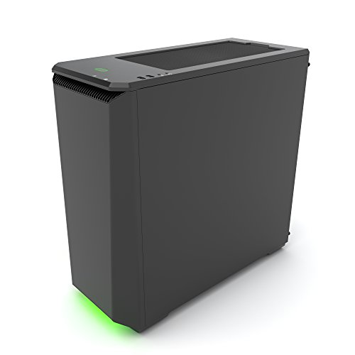Phanteks PH-EC416PTG_BK Eclipse P400 Steel ATX Mid Tower Case Satin Black,''Tempered Glass'' Edition Cases by Phanteks (Image #3)