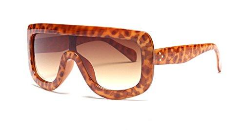 square sunglasses women designer large frame Shades gradient sun glasses oculos de sol feminino ()