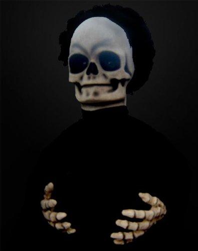 Halloween Horror Scary Table Tot Skull Skeleton Animatronic Prop - Horror Animatronics